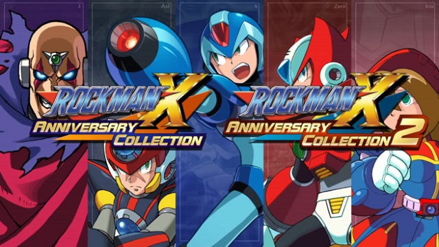 Mega Man X Legacy Collection 1 + 2 cover