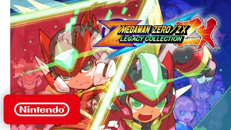 Mega Man Zero ZX Legacy Collection cover