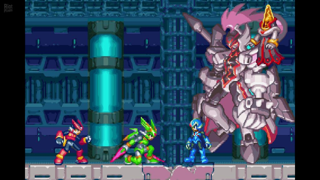 Mega Man Zero ZX Legacy Collection gameplay2