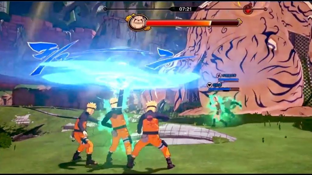 Naruto to Boruto Shinobi Striker gameplay