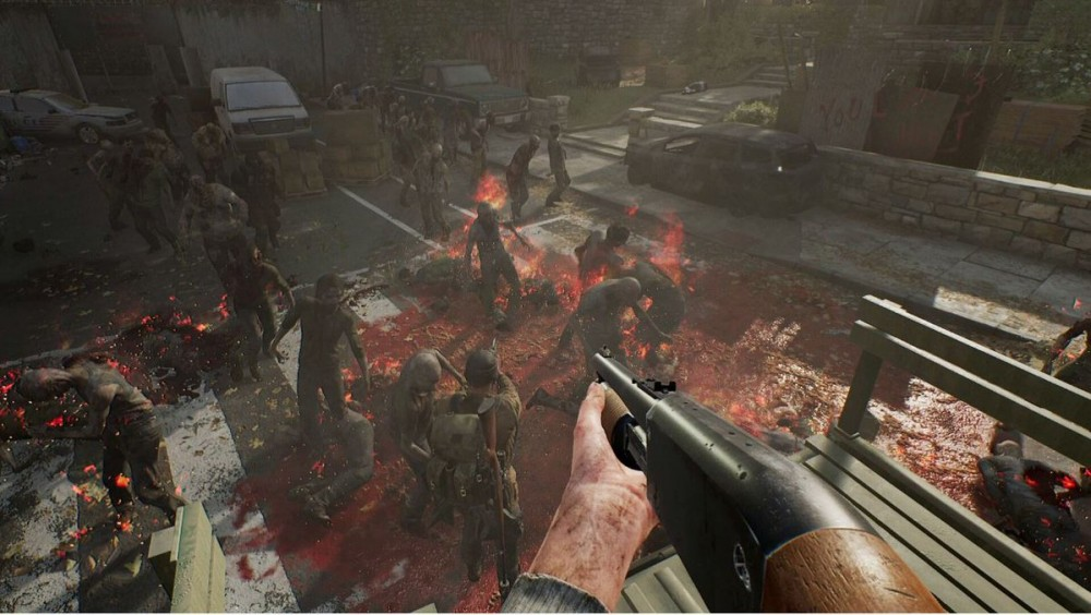 OVERKILL's The Walking Dead gameplay