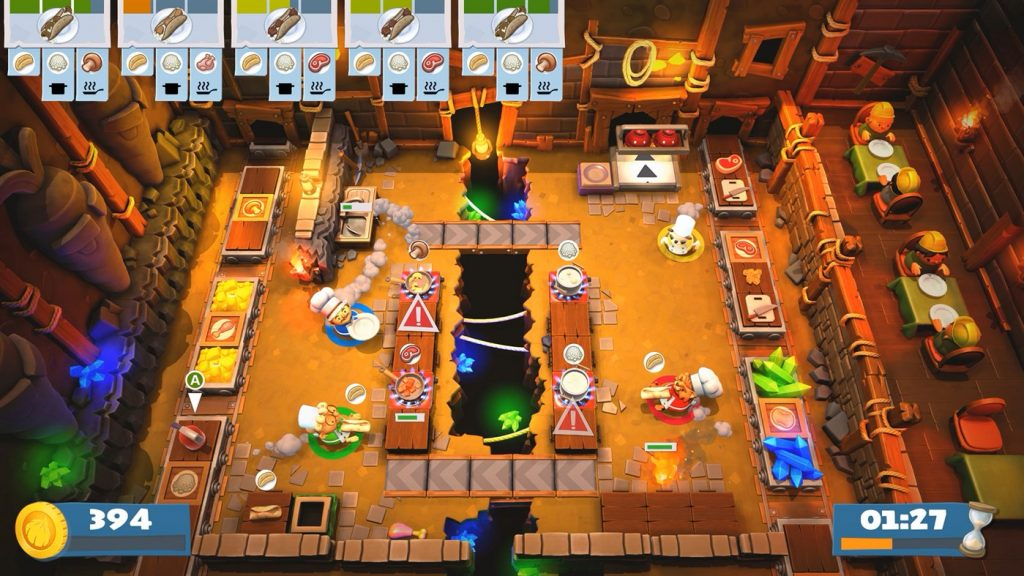 Overcooked! 2 Gourmet Edition gameplay
