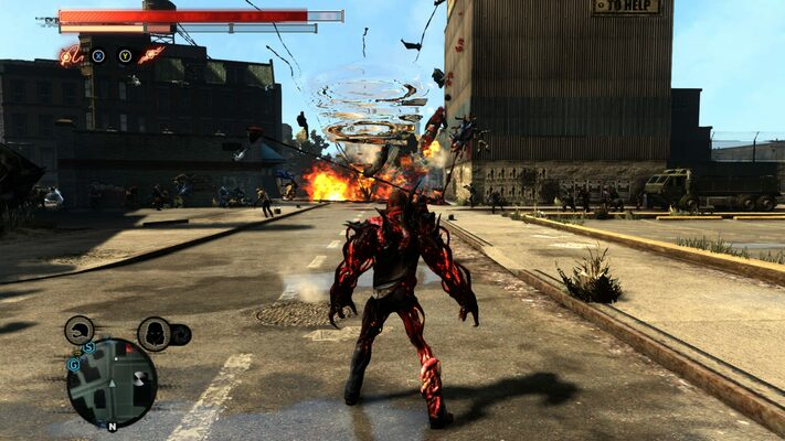 Prototype 2 RADNET Edition gameplay