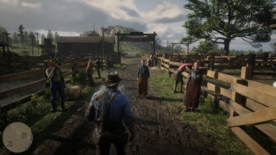 Red Dead Redemption 2 gameplay