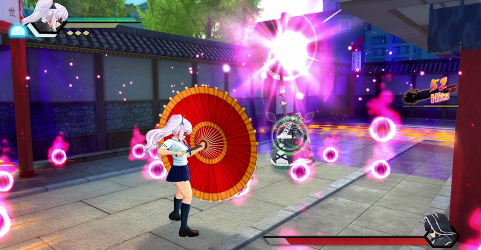 SENRAN KAGURA Burst Re Newal gameplay2