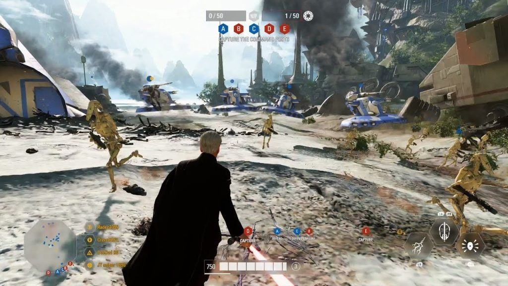 Star Wars Battlefront II gameplay2