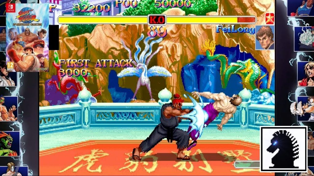 Street Fighter 30th Anniversary Collection gameplay2