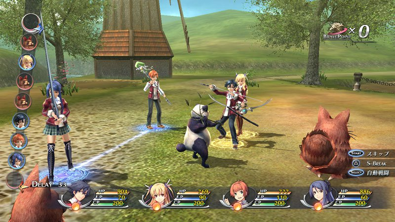 The Legend of Heroes Trails of Cold Steel 2 gameplay2