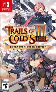 The Legend of Heroes Trails of Cold Steel 3 cover