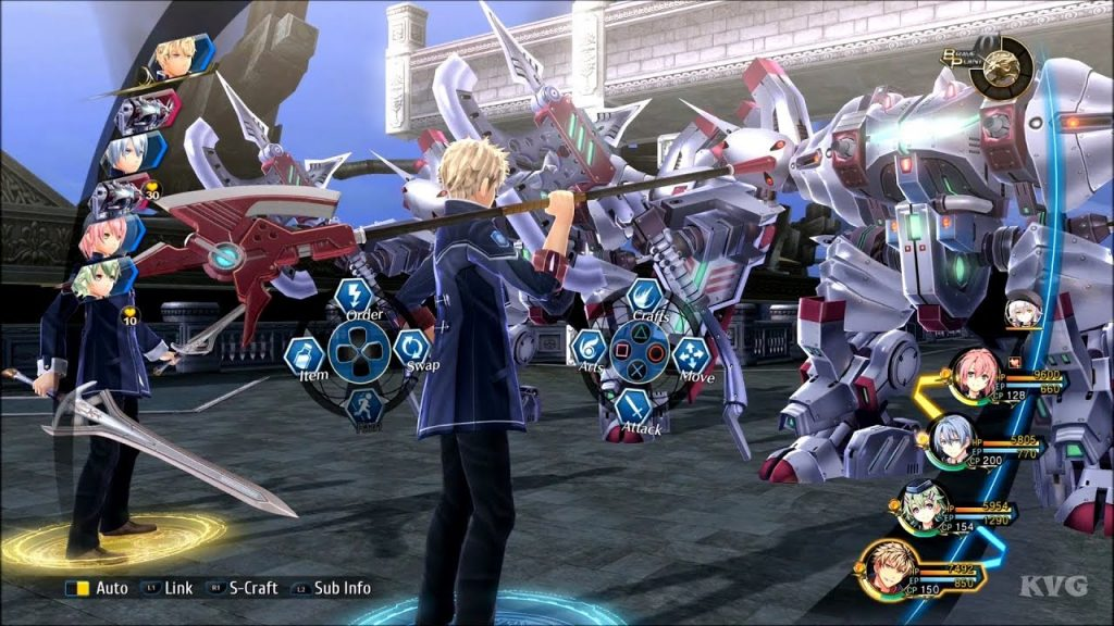 The Legend of Heroes Trails of Cold Steel 3 gameplay
