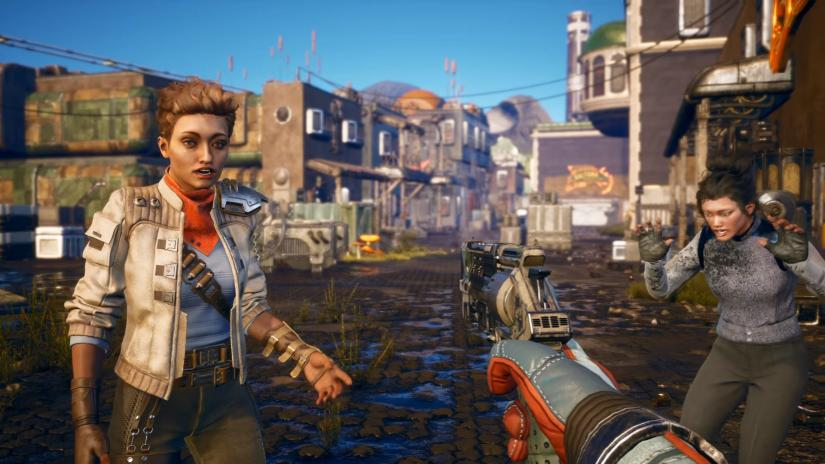 The Outer Worlds gameplay