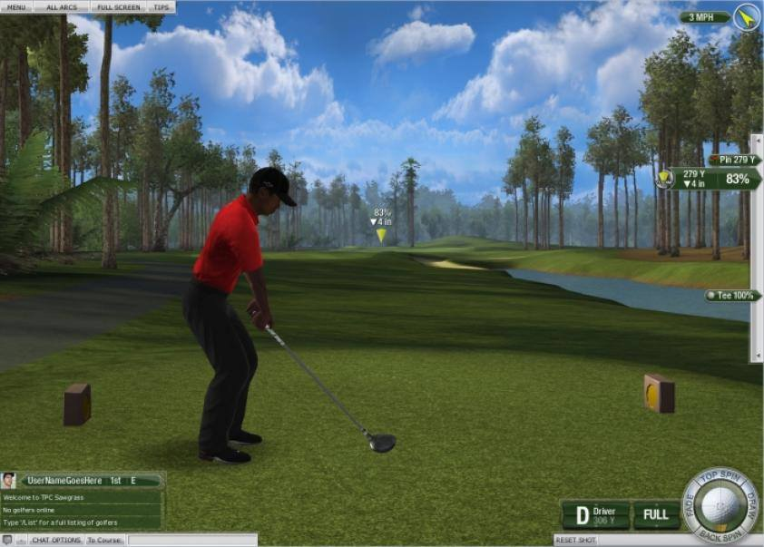 Tiger Woods PGA Tour 08 gameplay2