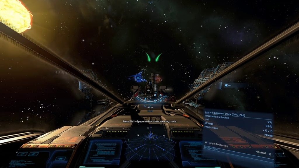 X4 Foundations gameplay