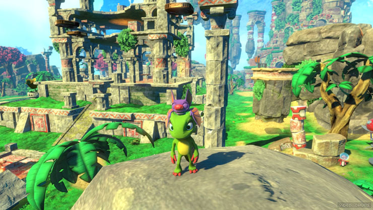 Yooka-Laylee gameplay2