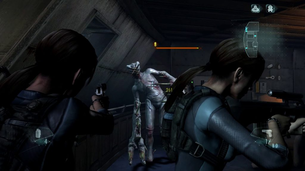 resident evil revelation gameplay