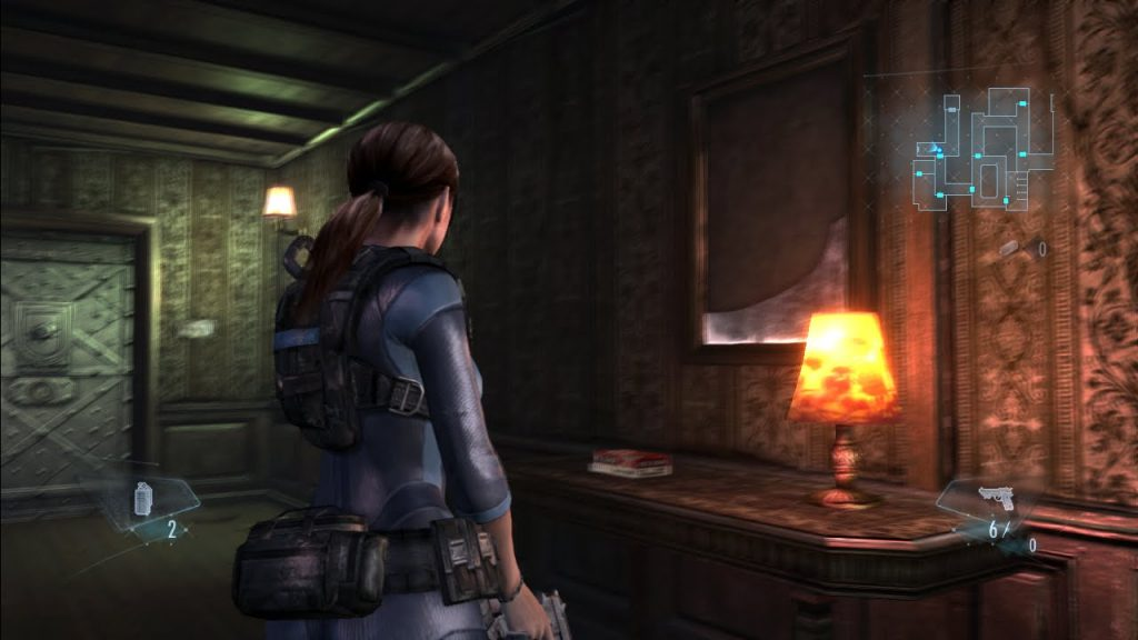 resident evil revelation gameplay2