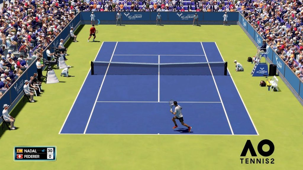 AO Tennis 2 gameplay
