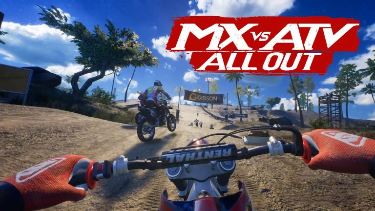 MX vs. ATV All Out gameplay