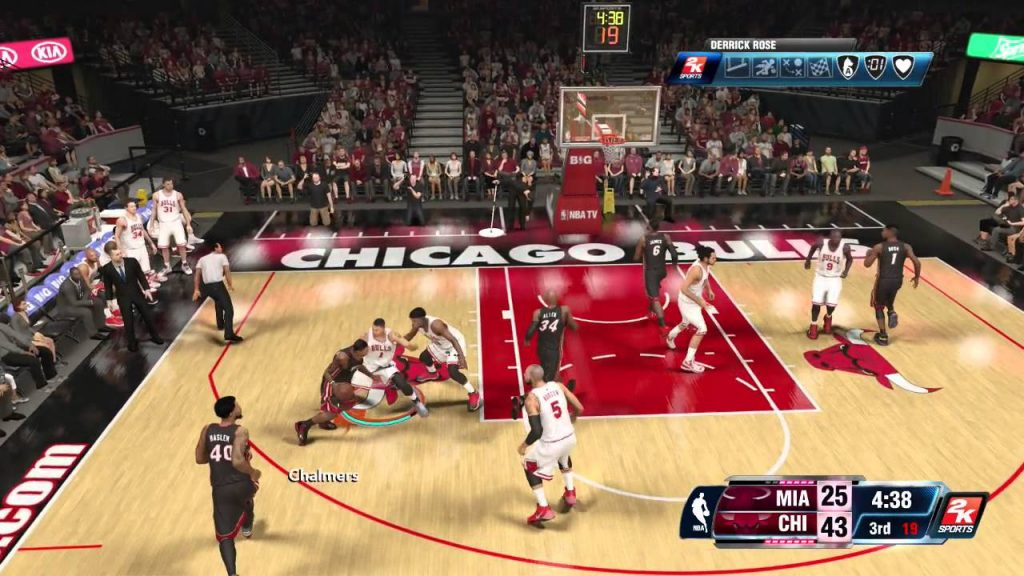 NBA 2K19 20th Anniversary Edition gameplay