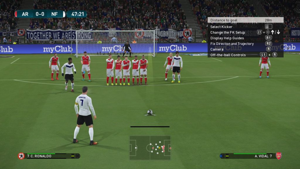 Pro Evolution Soccer 2017 gameplay