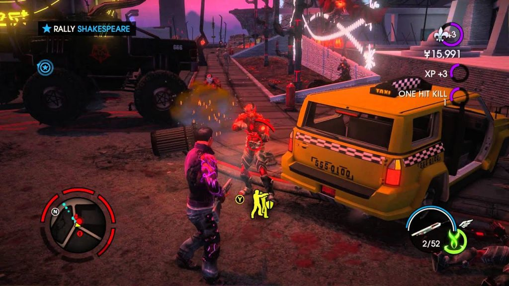 Saints Row Gat out of Hell gameplay
