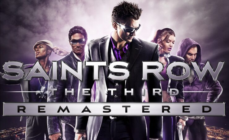 Saints Row The Third Remastered cover