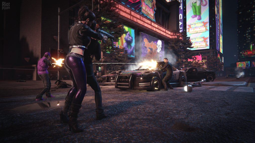 Saints Row The Third Remastered gameplay