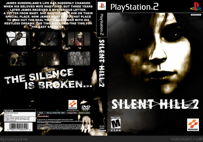 Silent Hill 2 Director's Cut cover