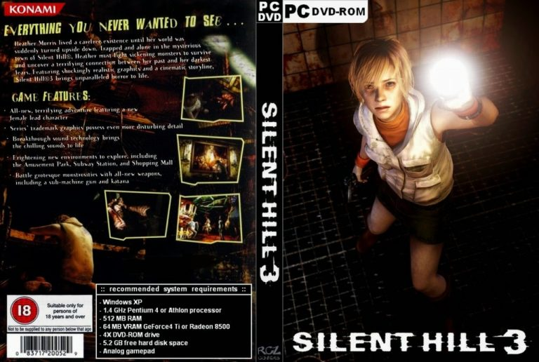 Silent Hill 3 cover