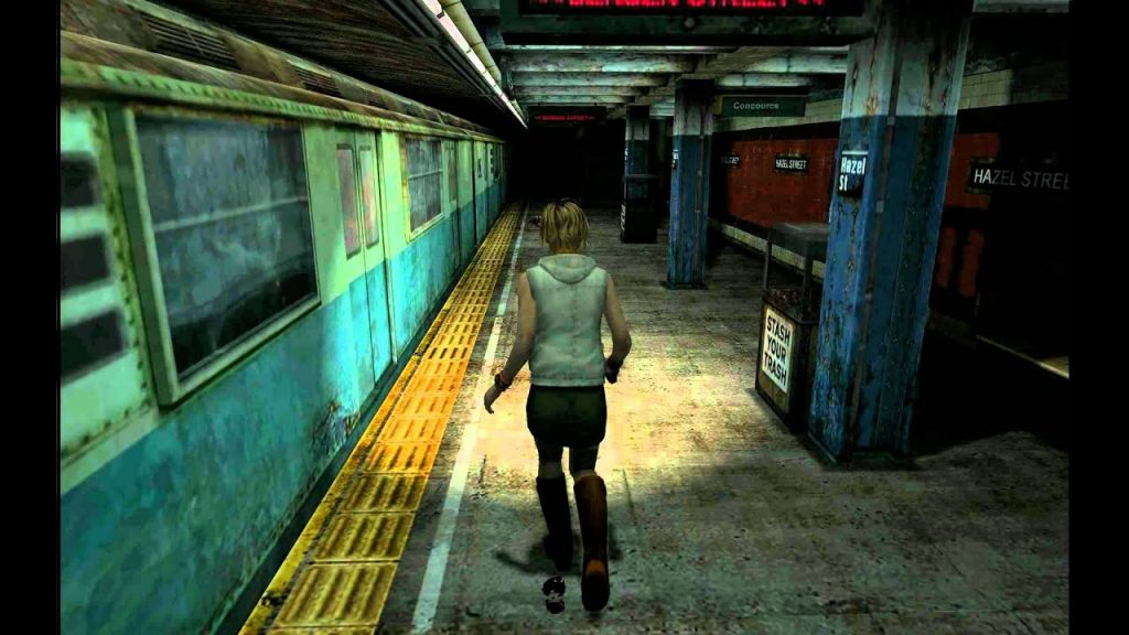 Silent Hill 3 gameplay2