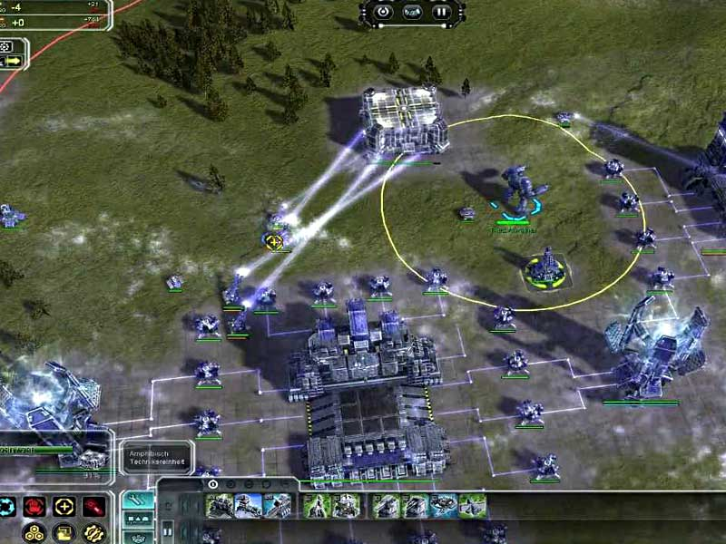 Supreme Commander Forged Alliance gameplay2