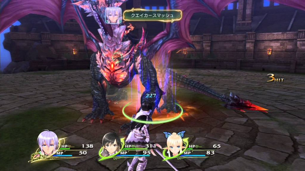 shining resonance refrain gameplay2