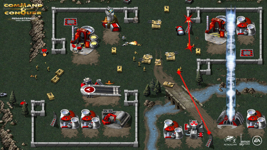Command & Conquer Remastered Collection gameplay2