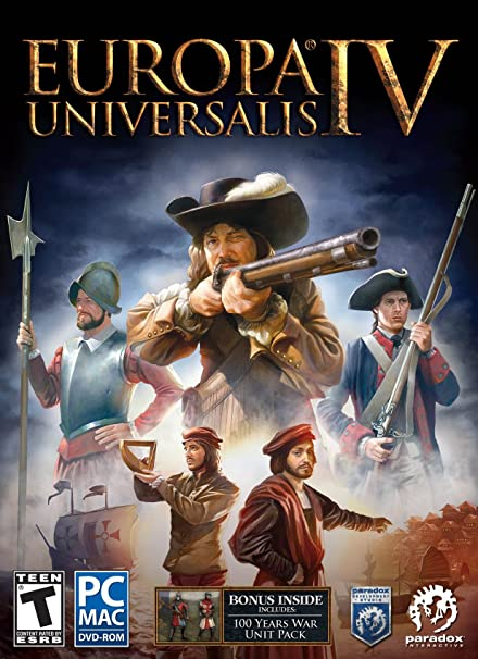 Europa Universalis IV + All DLCs + Multiplayer