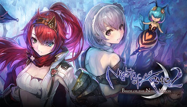 Nights of Azure 2 Bride of the New Moon cover