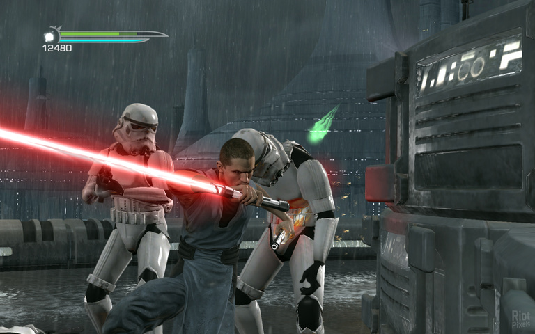 STAR WARS The Force Unleashed 2 gameplay