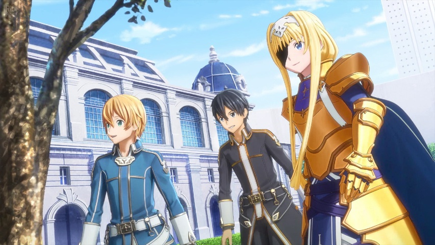 Sword Art Online Alicization Lycoris gameplay2