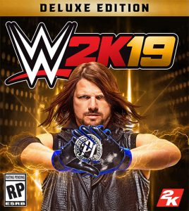 WWE 2K19: Digital Deluxe Edition + 4DLCs