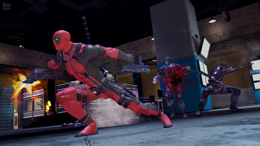 Deadpool gameplay2