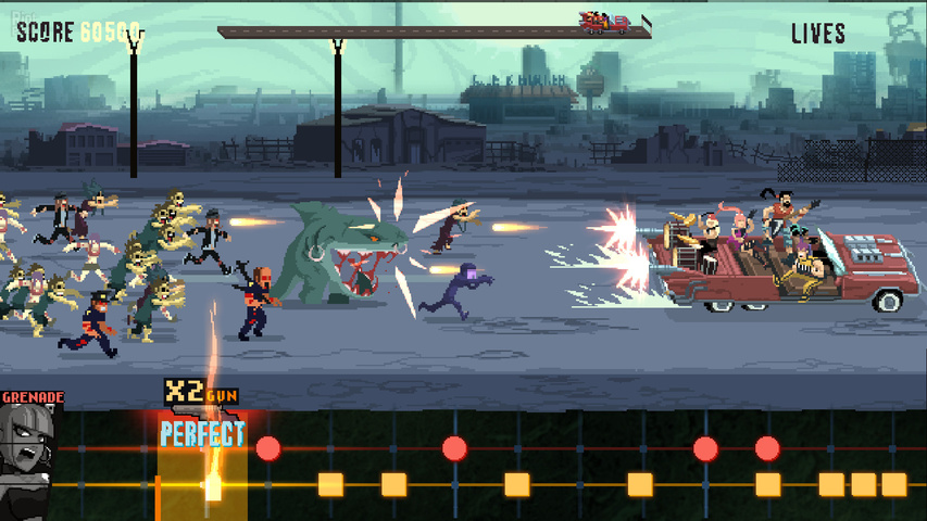 Double Kick Heroes gameplay