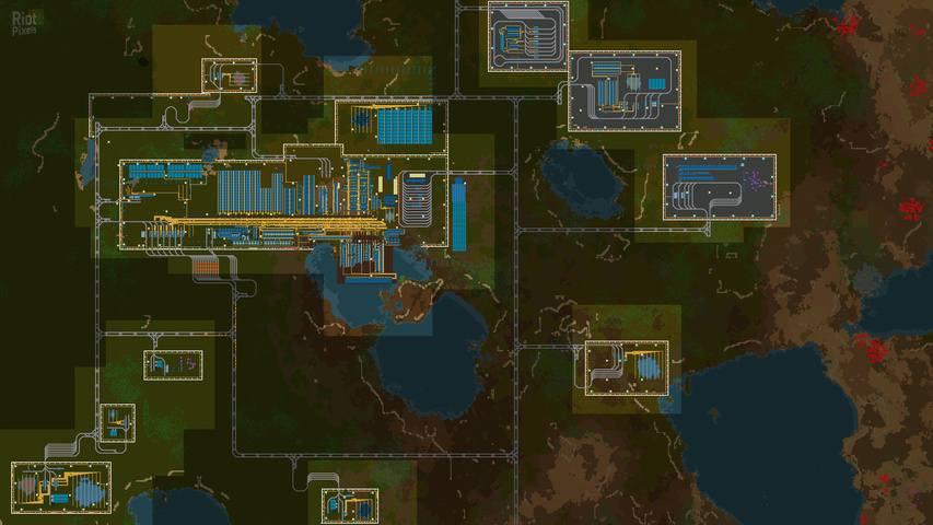 Factorio gameplay