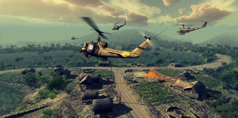 Heliborne Enhanced Edition gameplay