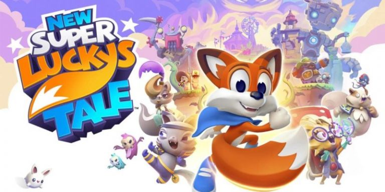 New Super Lucky's Tale cover