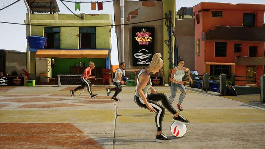 Street Power Football gameplay