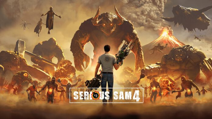 Serious Sam 4 Digital Deluxe Edition cover