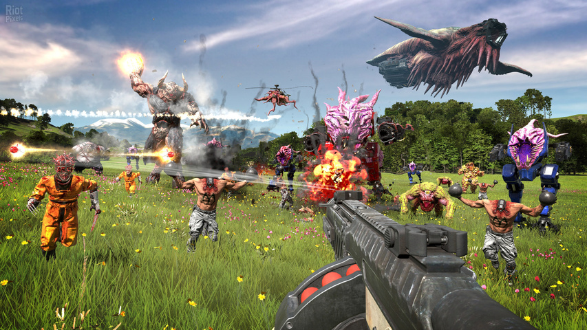 Serious Sam 4 Digital Deluxe Edition gameplay