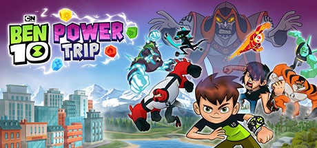 Ben 10 Power Trip cover