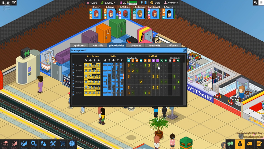 Overcrowd A Commute 'Em Up gameplay2