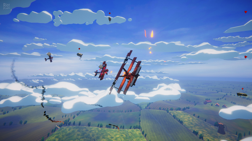 Red Wings Aces of the Sky gameplay2