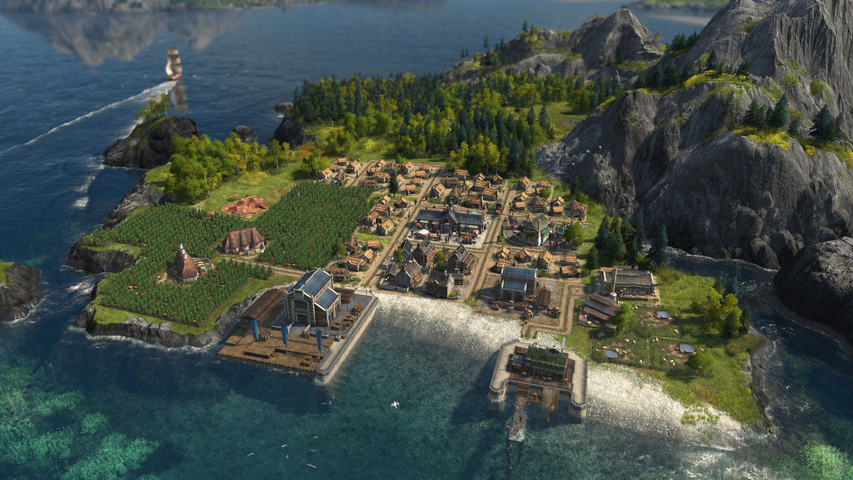 Anno 1800 Complete Edition gameplay